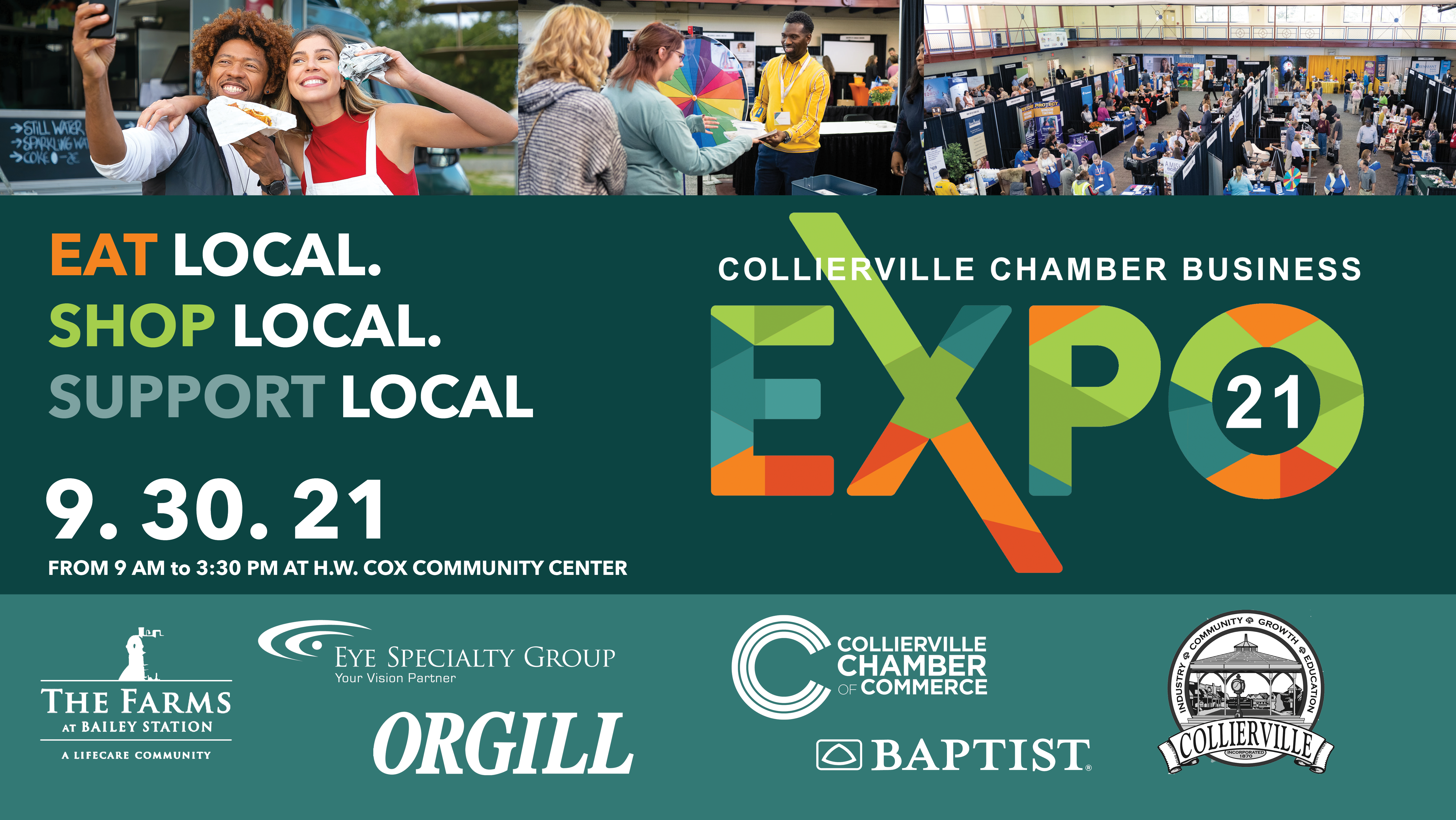 Local Business Gears Up for Largest Community Showcase in the Mid-South: Eat Local, Shop Local, and Support Local